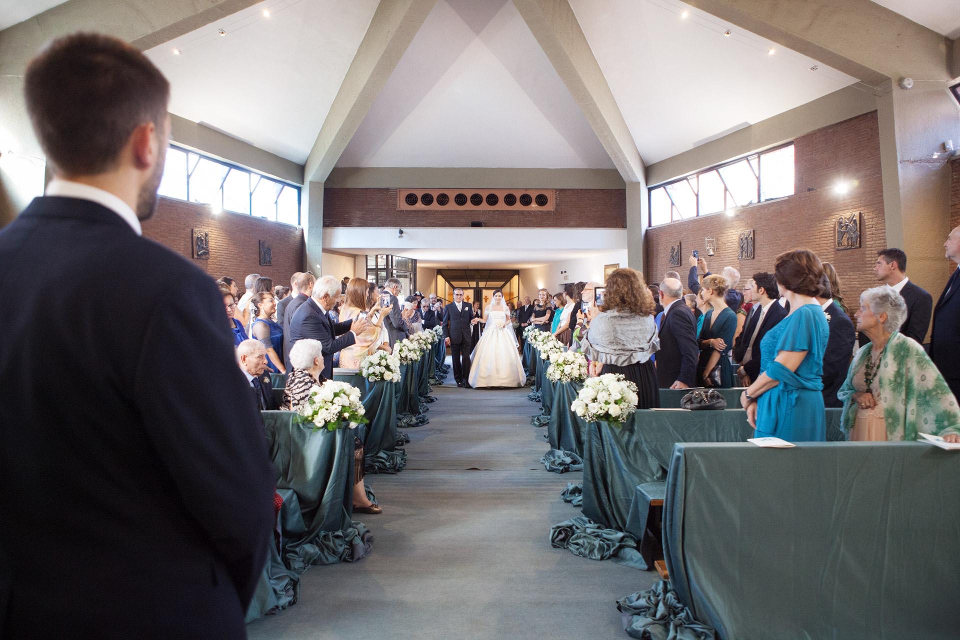 ingresso della sposa a S. Giuseppe da Copertino