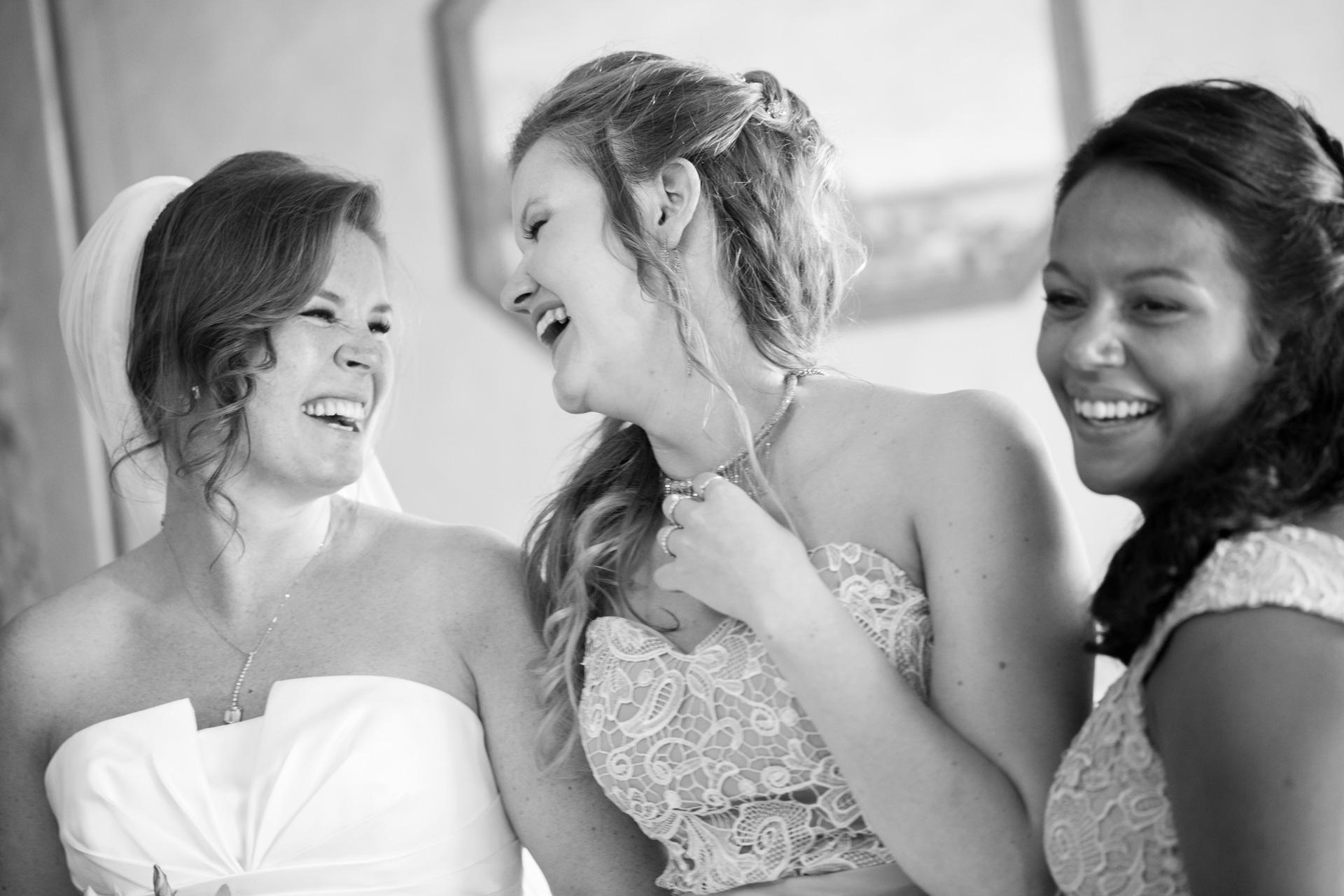 le testimoni della sposa