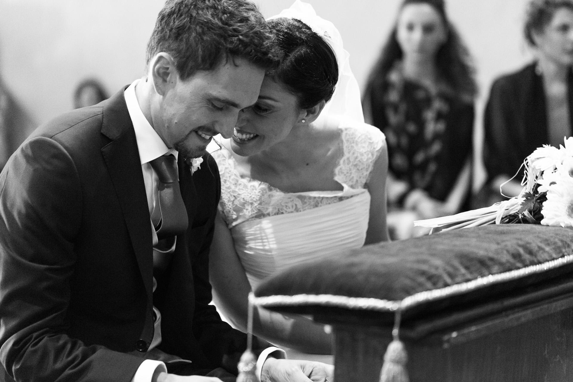 sussurri tra gli sposi