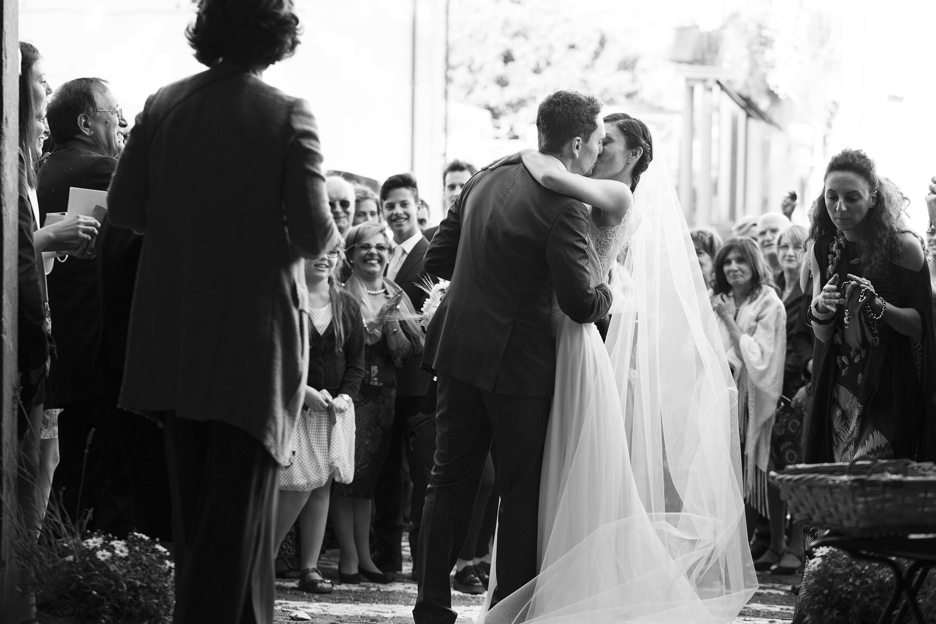 primo bacio da sposati