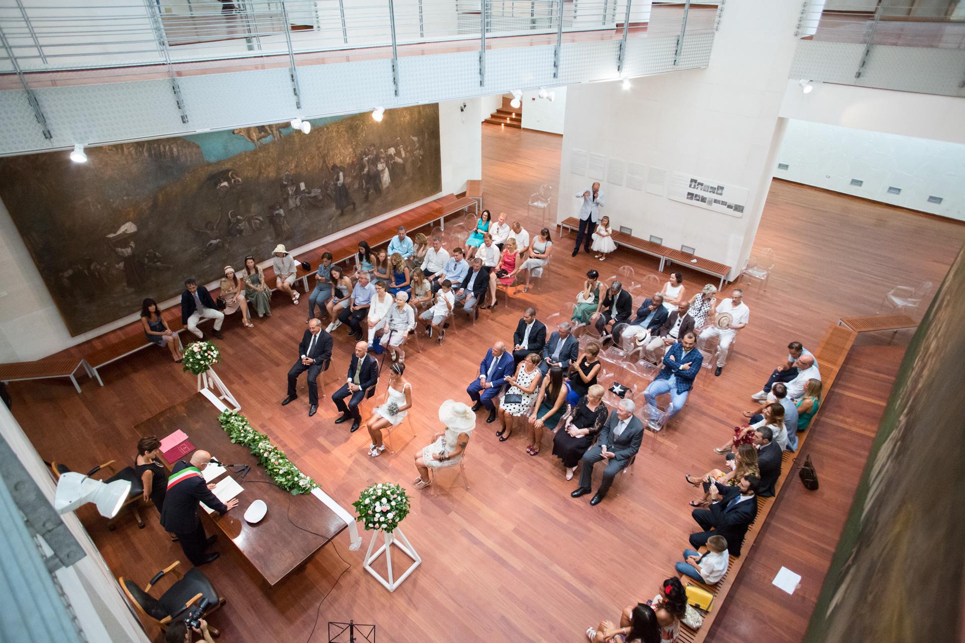 matrimonio al Museo Michetti di Francavilla al Mare