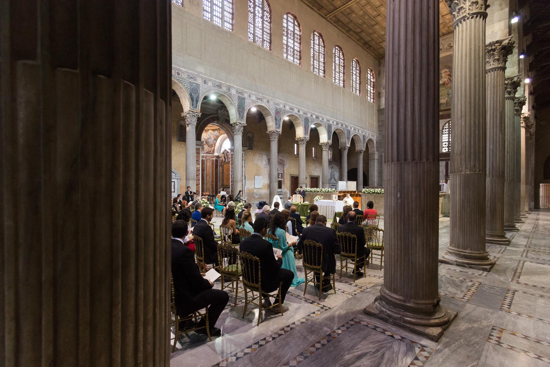 matrimonio a Santa Sabina