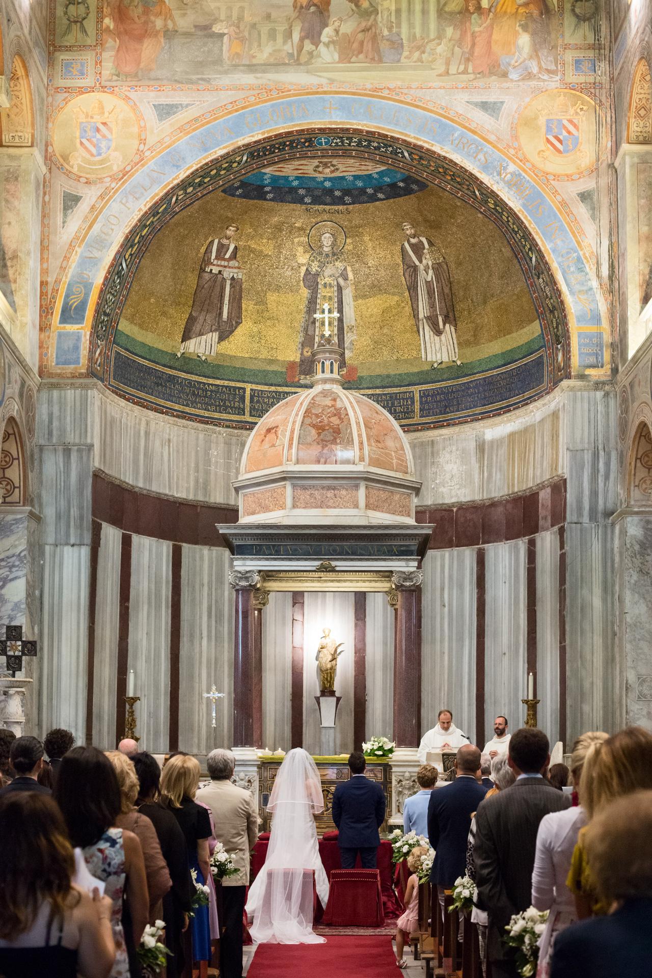 matrimonio alla Basilica di Sant'Agnese fuori le mura