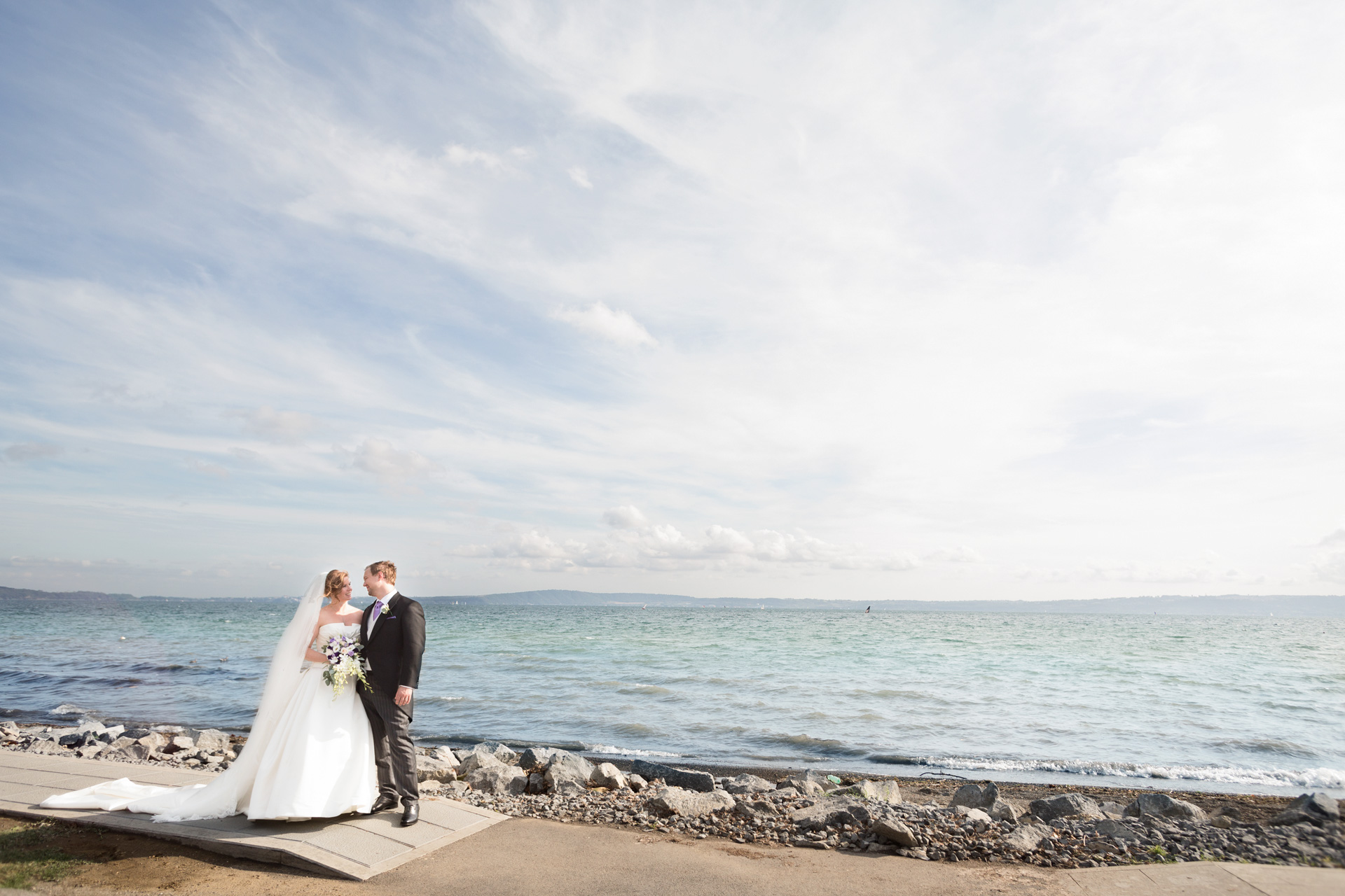 sposi sul lago di Bracciano a Trevignano