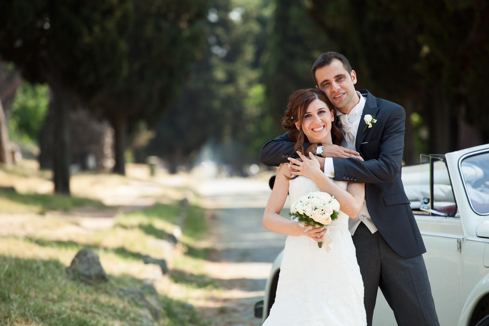 sposi sull'appia antica