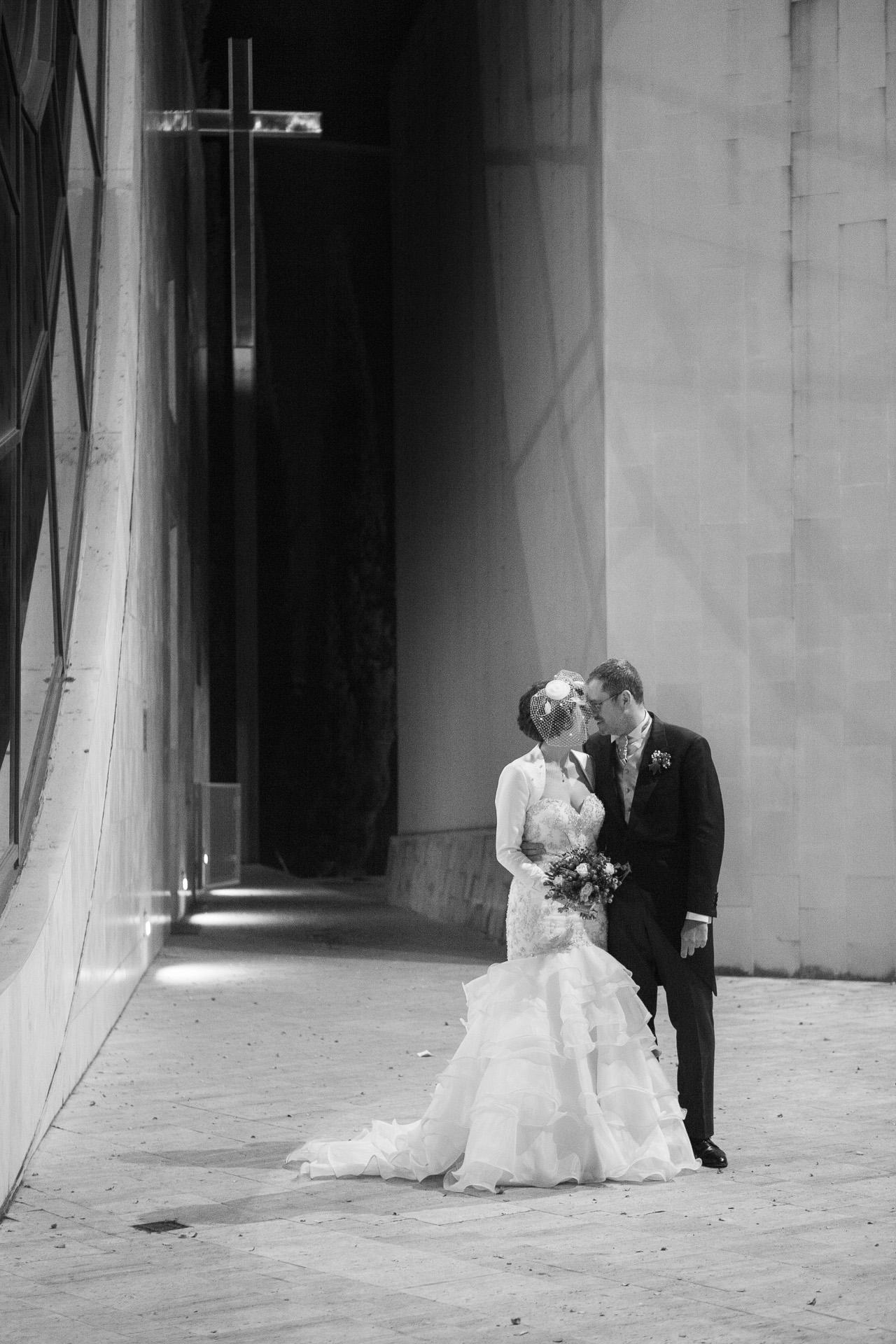 sposi alla Parrocchia Santo Volto di Gesù