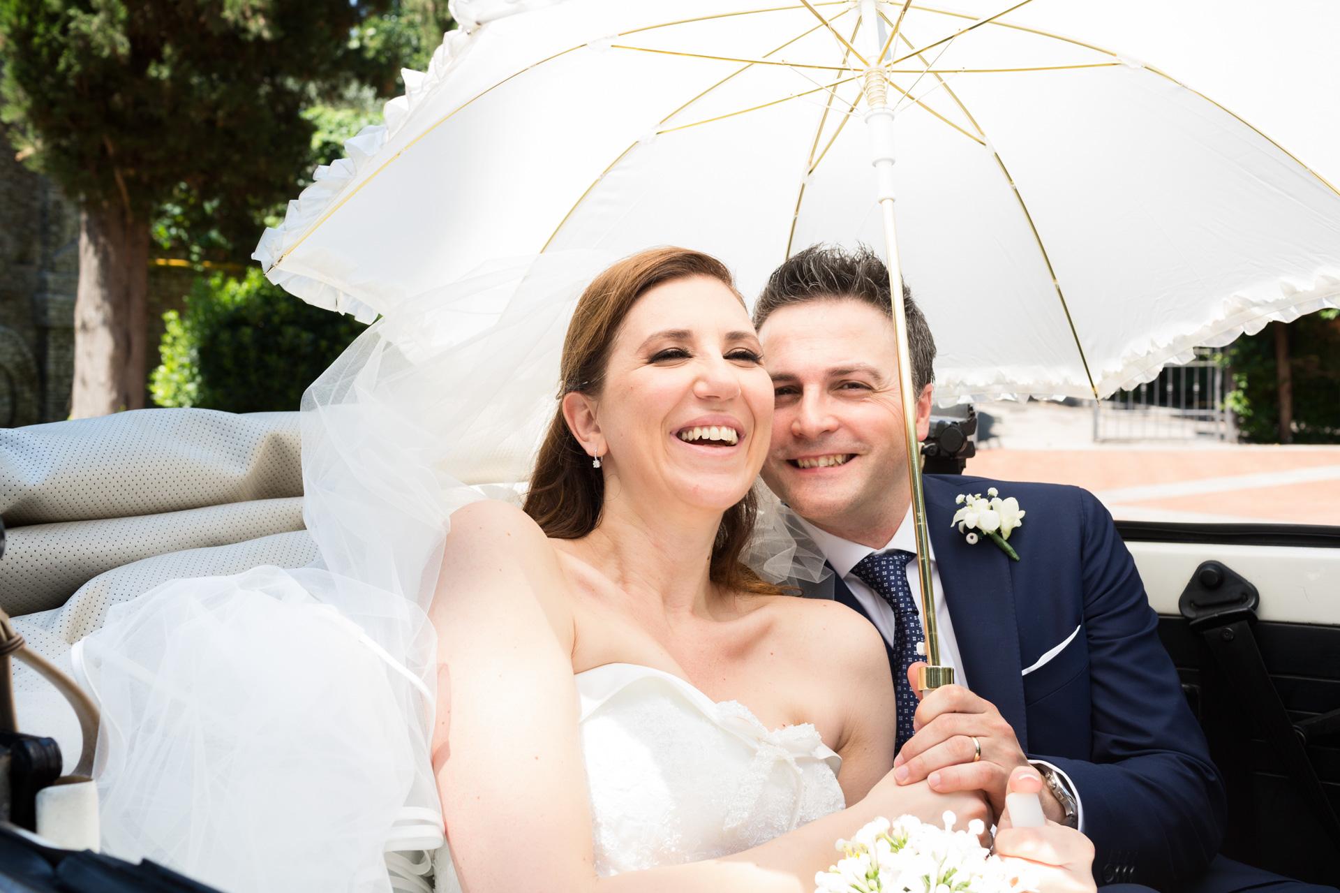 l'ombrello della sposa