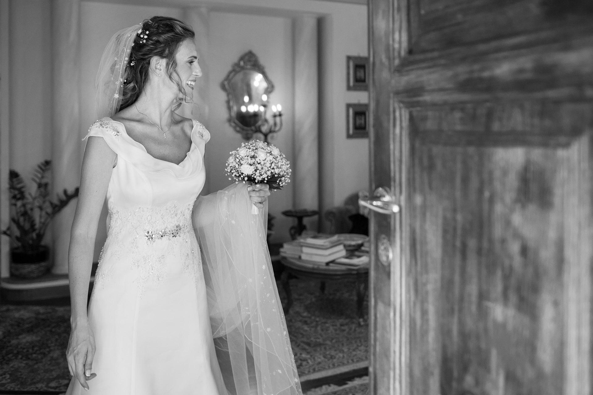 uscita da casa della sposa