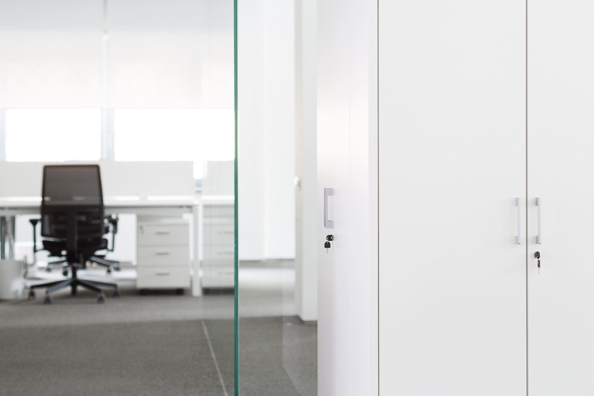 Fotografia d'interni: arredo ufficio di Quadrifoglio. copyright © _nf