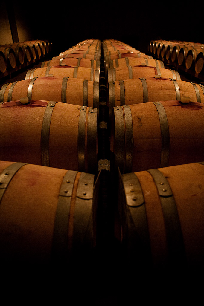 Interior photography: winery, Italy. copyright © _nf