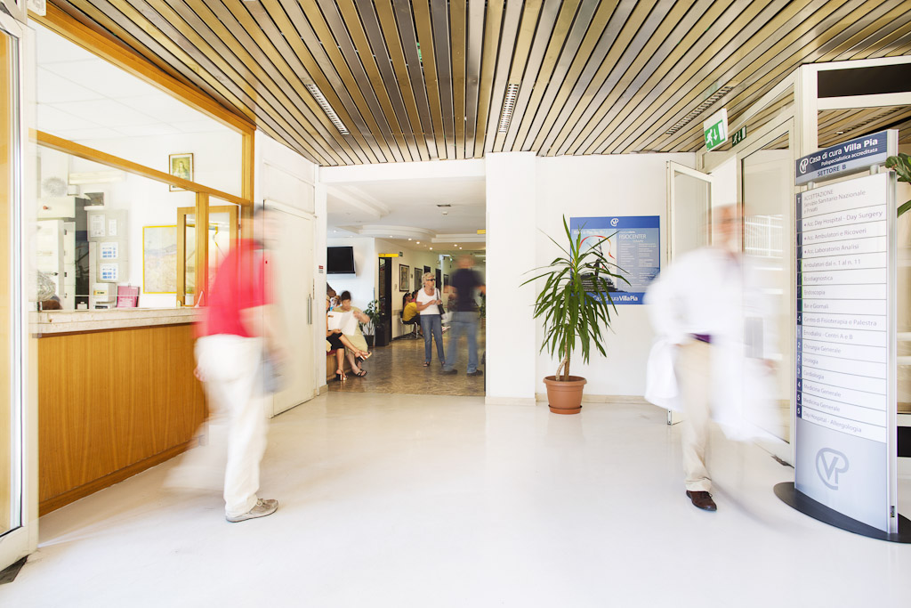 Corporate photography: Villa Pia hospital. copyright © _nf