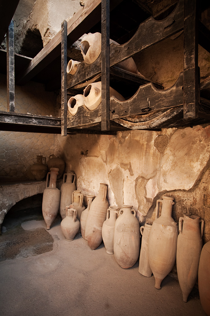Architecture photography: Pompei archaeological heritage. copyright © _nf
