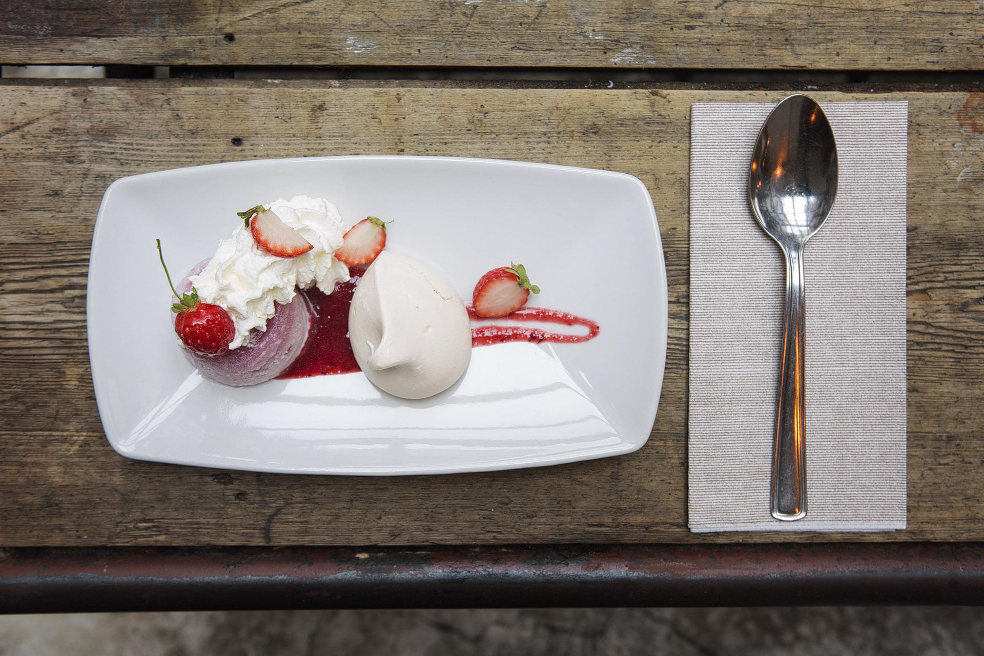 Fotografia food: dessert del Bar del Fico, Roma