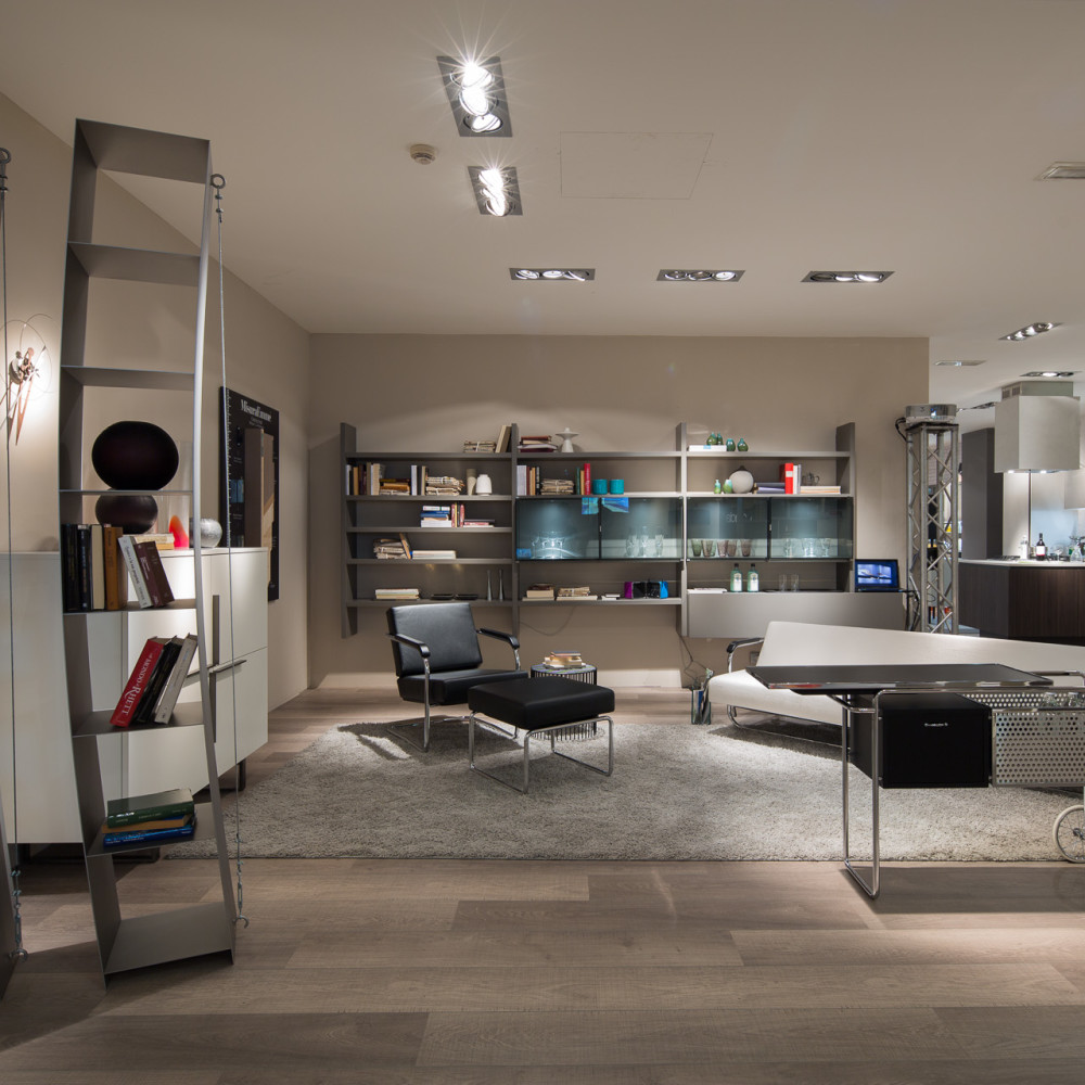 Fotografo Roma - Showroom Binacci: isola Emmezeta