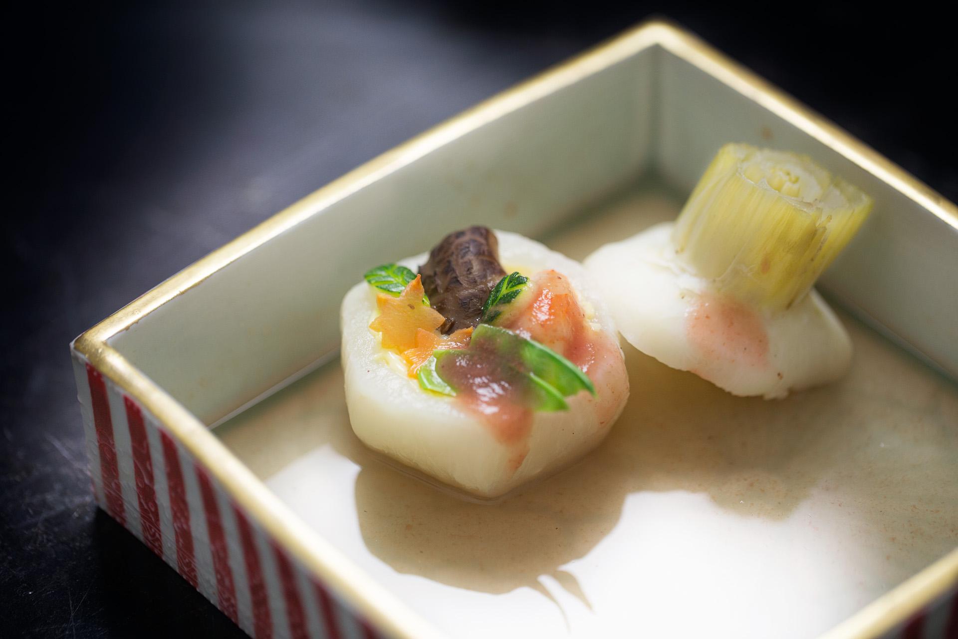 Kyoto Shokunin Kobo e lo chef Kazuhiko Endo nel ristorante Doozo