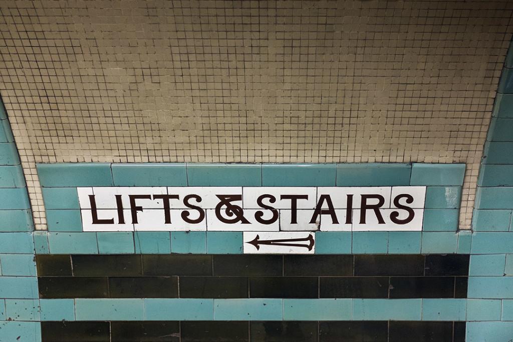 London Russel Square underground station signal