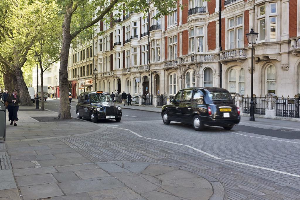 View of Great Russel street in London