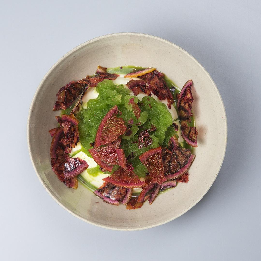 Piatto dello Chef James Lowe a Culinaria