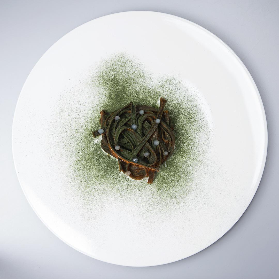 Piatto dello Chef Roy Caceres a Culinaria