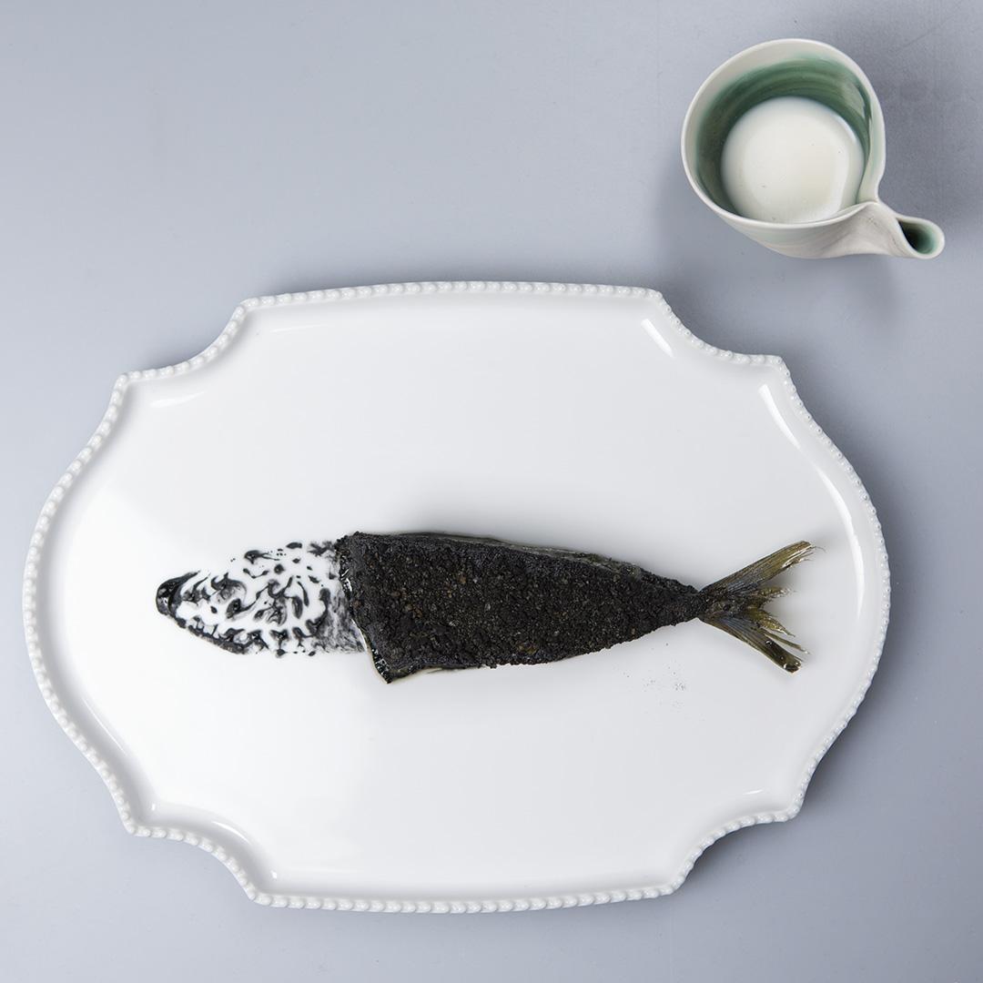 Piatto dello Chef Yoji Tokuyoshi a Culinaria