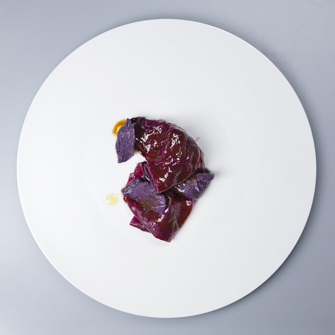 Piatto dello Chef Riccardo Camanini a Culinaria