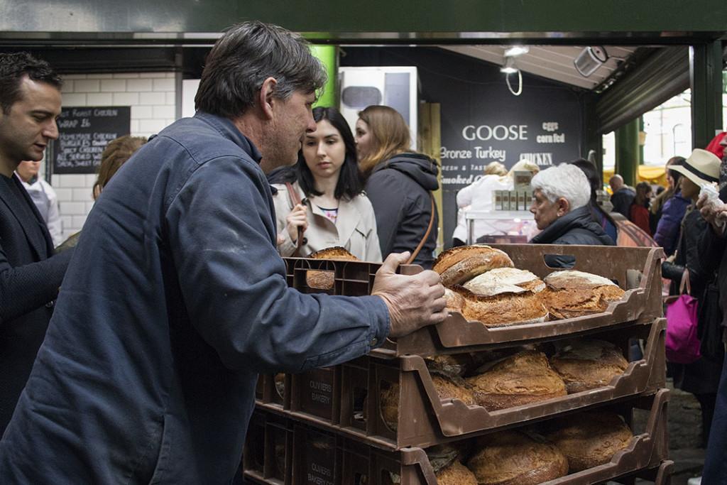 London Borough Market: Bread!