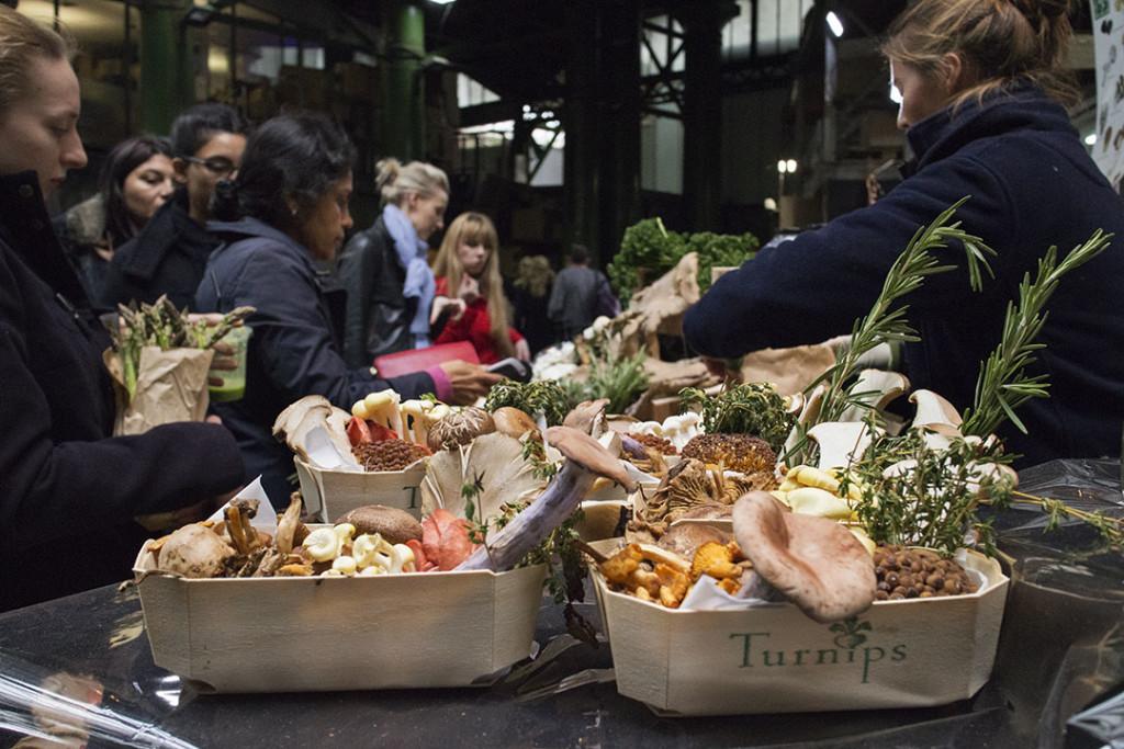 London Borough Market: Turnips specialties