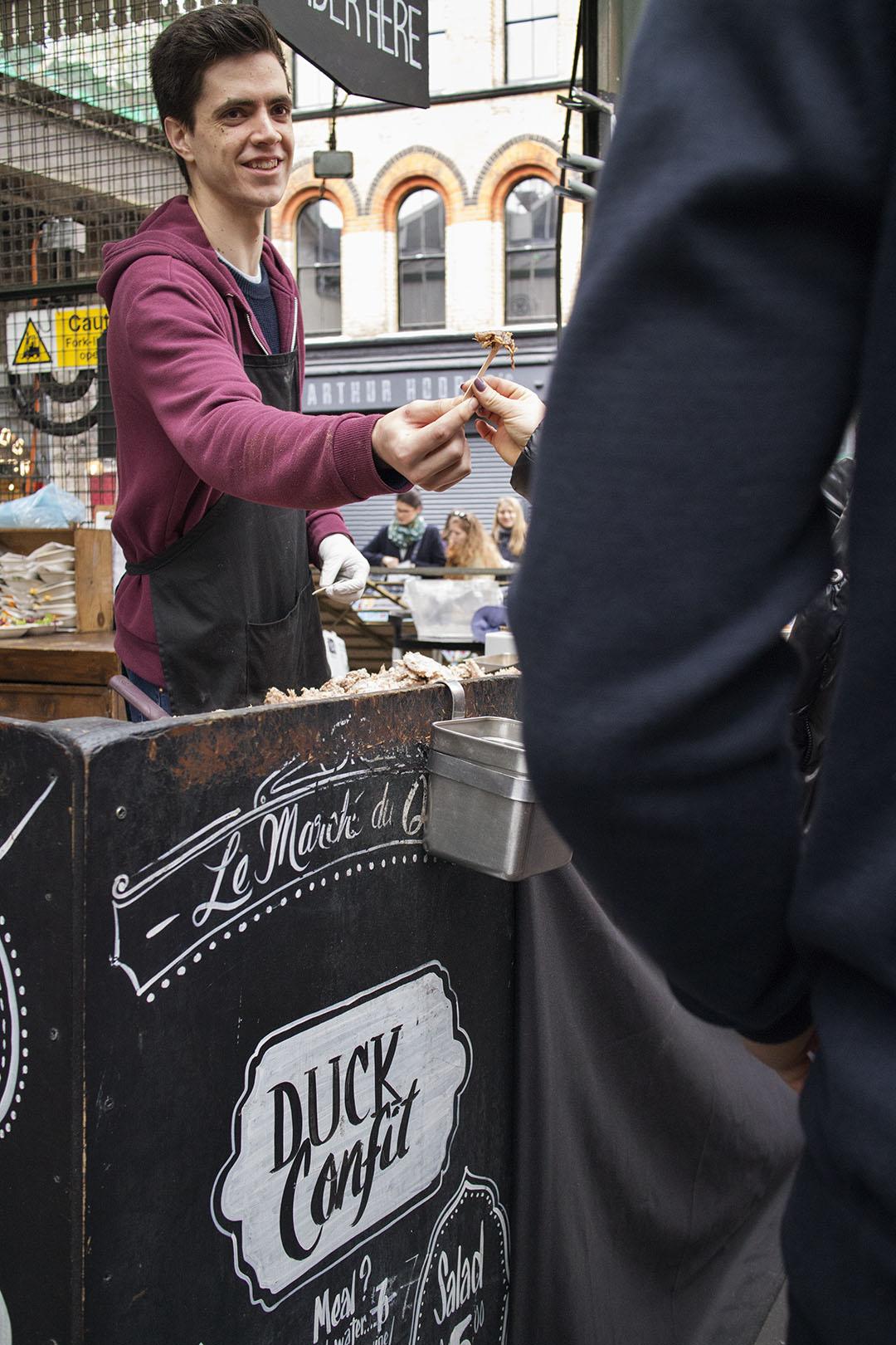 Le Marché du Quartier at London Borough Market