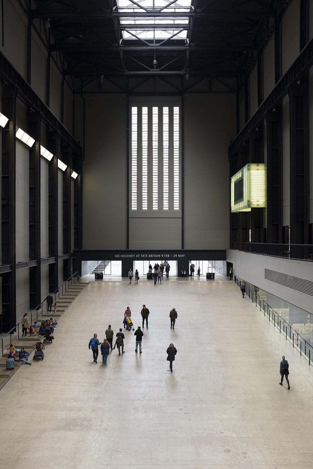 London Tate Modern interior - ottiche professionali