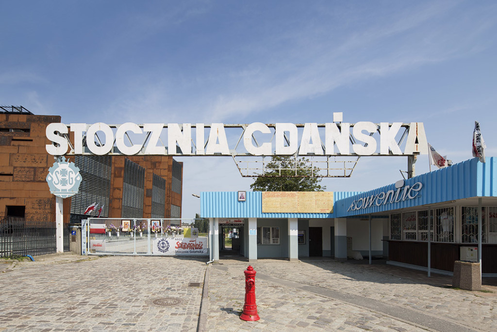 _nf - Gdansk - European Solidarity Centre - Stocznia entrance