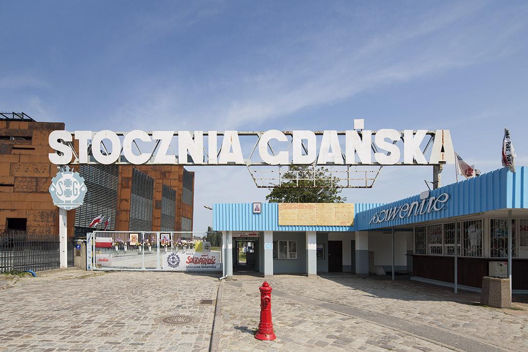 _nf - Gdansk - European Solidarity Centre - Stocznia entrance viaggiare in Polonia
