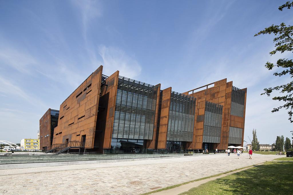 _nf - Gdansk - European Solidarity Centre - exterior