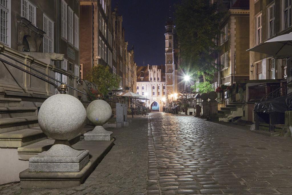Gdansk - Brama Mariacka from Mariacka