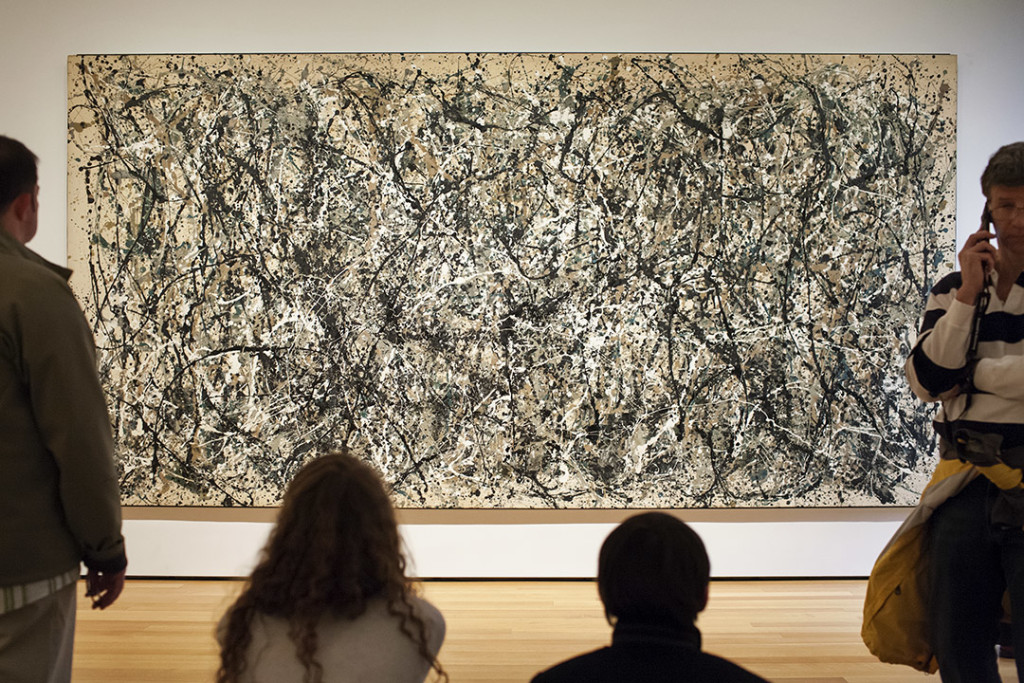 _nf - NewYork, MoMA - Jackson Pollock - One: Number 31