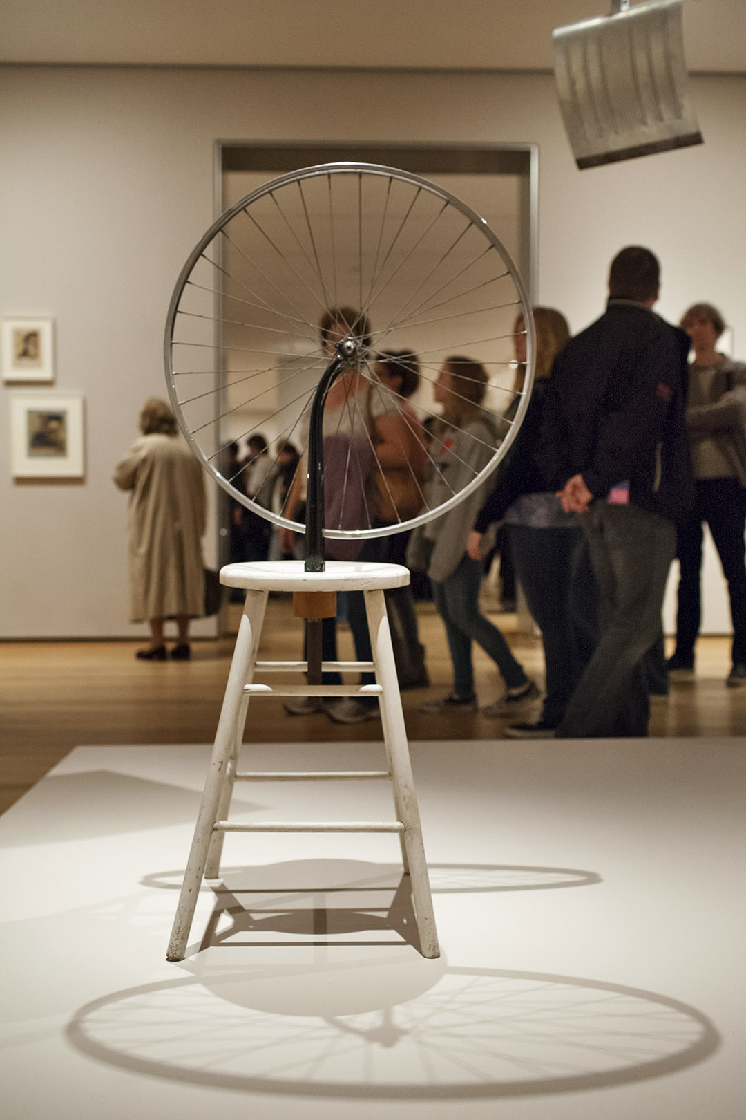 _nf - NewYork, MoMA - Marcel Duchamp - Bicycle Wheel