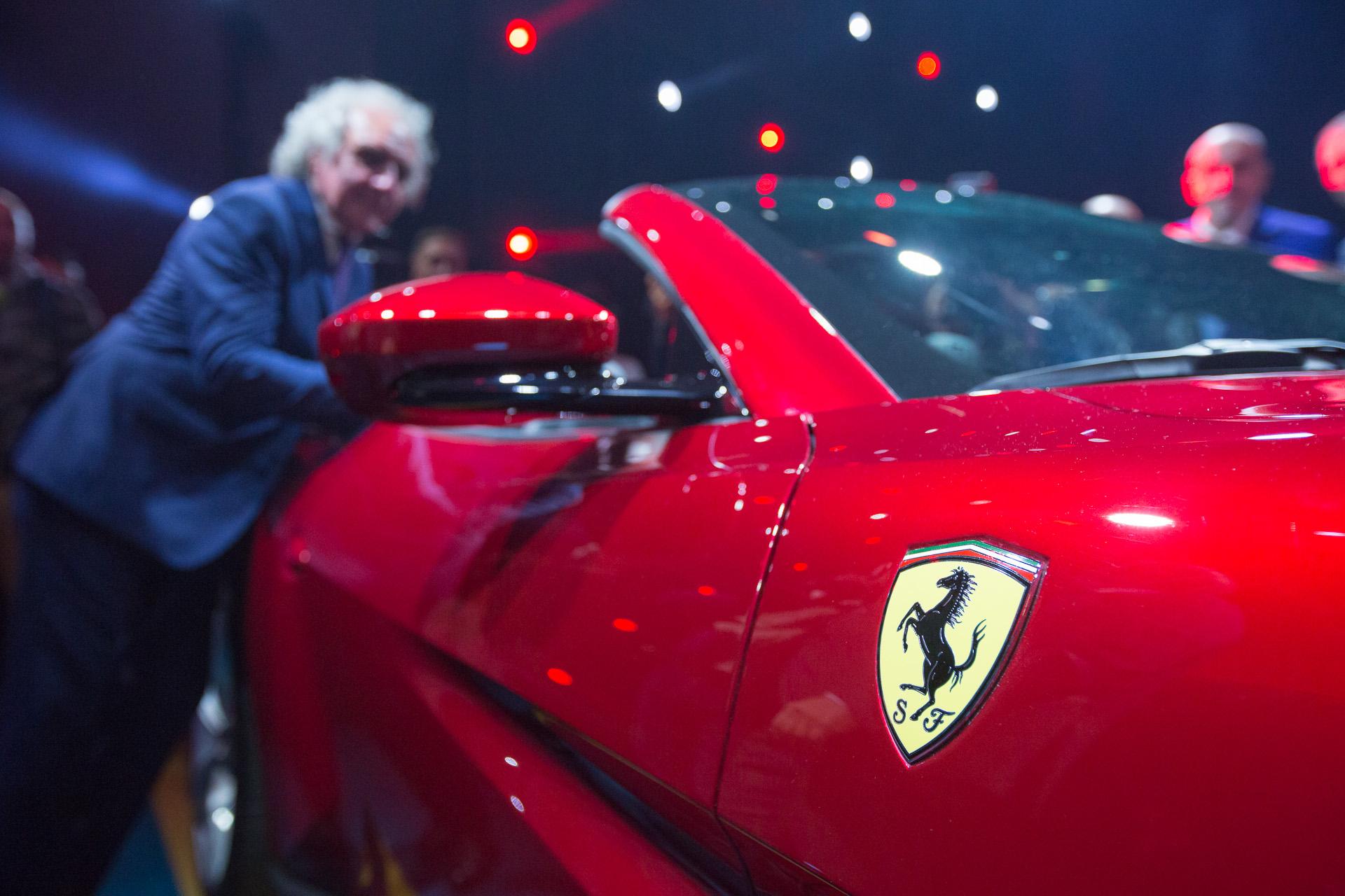 Dettaglio della Ferrari Portofino