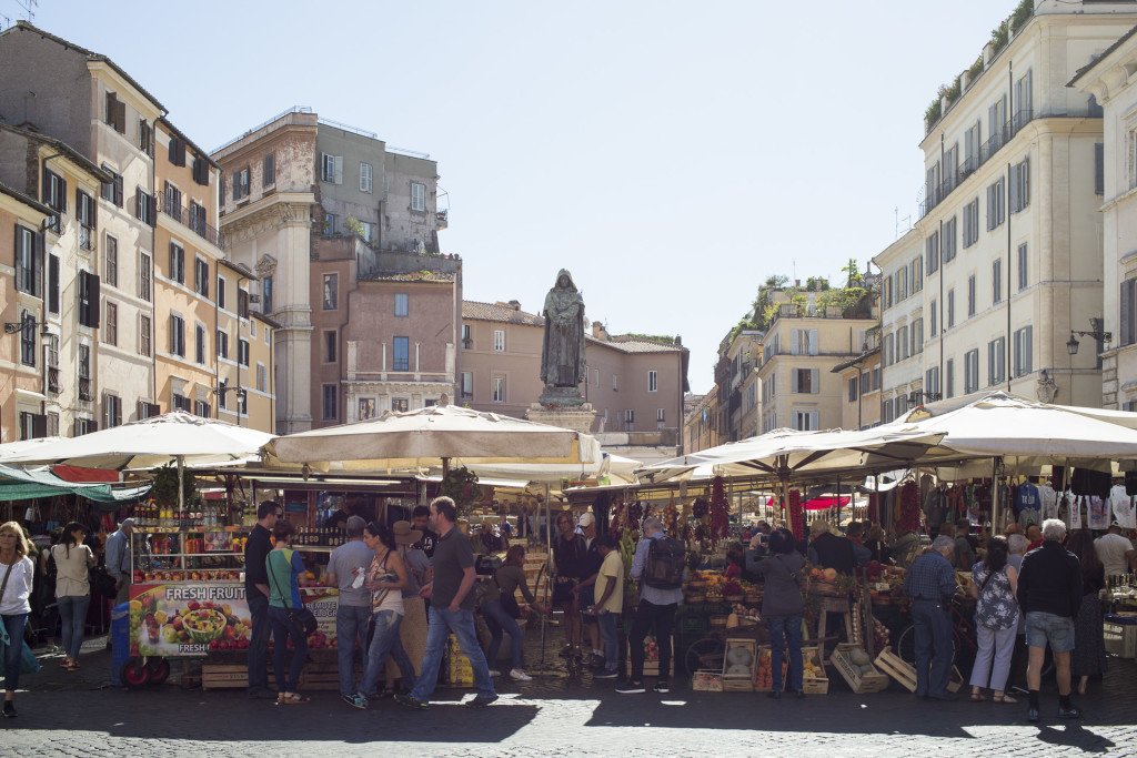 _nf - Rome as you will see it - Campo De Fiori
