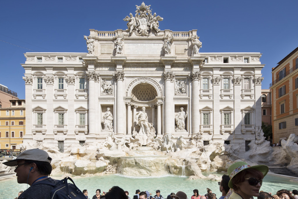 _nf - Rome as you will see it - Fontana Di Trevi