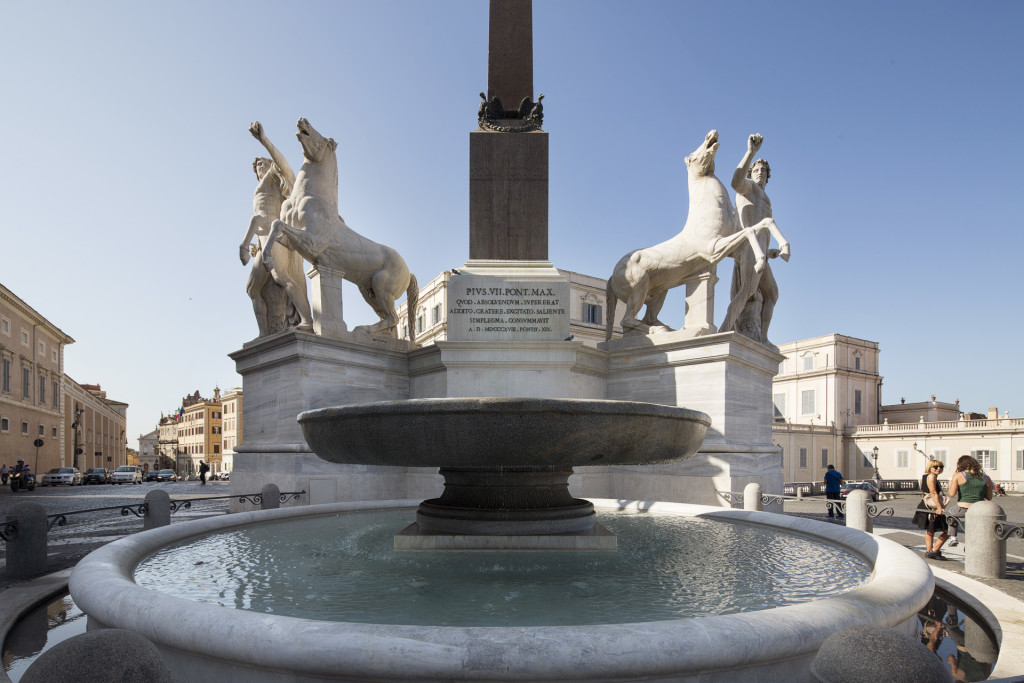 _nf - Roma Quirinale, la Fontana dei Dioscuri