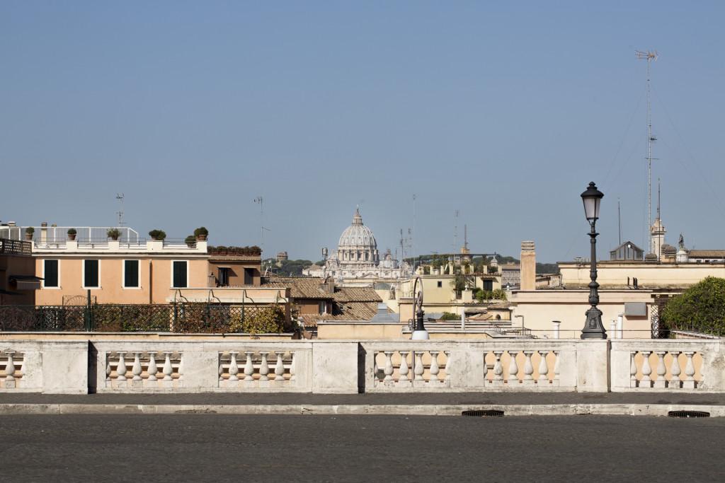 _nf - Roma Terrazza del Quirinale con vista su San Pietro