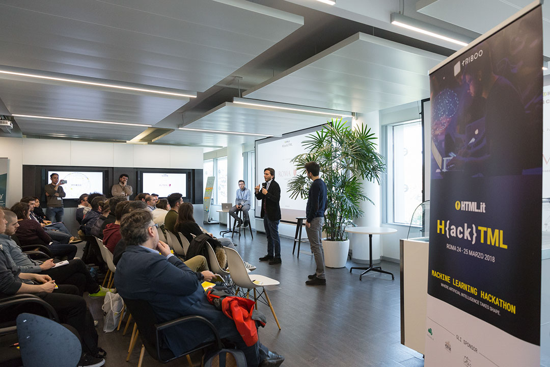 Reportage HackHTML - Machine learning hackathon